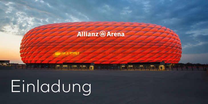 Alianz Arena Einladung
